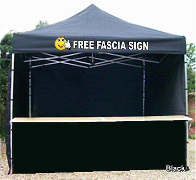 Mobile Catering Trailer Gazebo Heavy Duty Printed Hot Food Fast Food Burgers