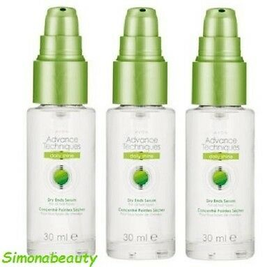3X  Advance Techniques Dry End Serum NEW in Box
