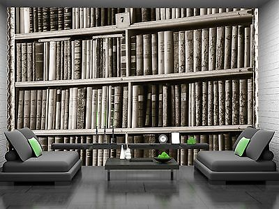 Biggest Library Wall Mural Photo Wallpaper GIANT DECOR Paper Poster Free Paste