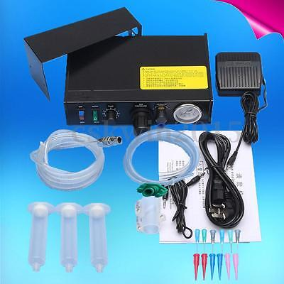 220V Automatic Liquid Glue Dispenser Solder Paste Liquid Controller Dropper