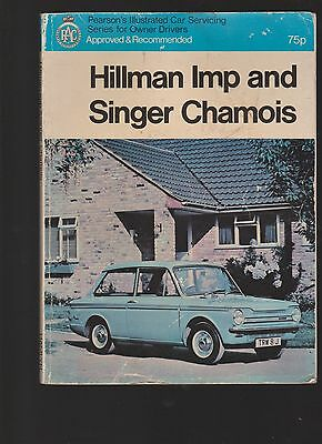 Hillman Imp Book, Cuttings and Restoration Jotter