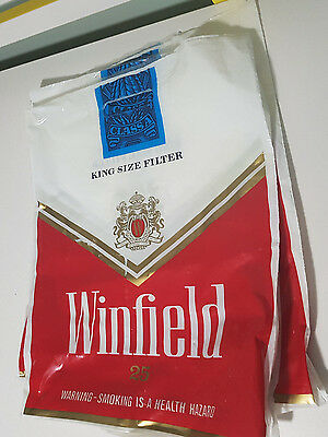 Winfield 25 Cigarette Bags Promotional Showbag? 3 Bags!