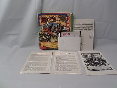 Vintage Commodore 64 / 128 game Defender of the Crown