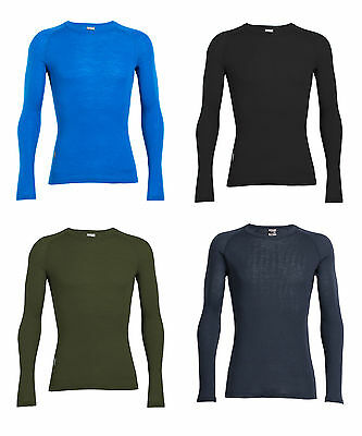 ICEBREAKER Mens Everyday Long Sleeve Crewe  200g/m² - Thermounterwäsche