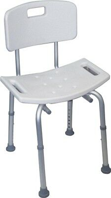 Electrovision Shower Stool with Back VB540S