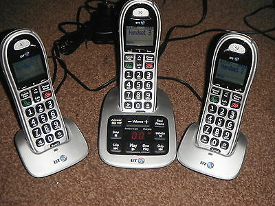 Bt 4500 Triple Cordless Phones With Answering Machine & Nuisance Call Blocker