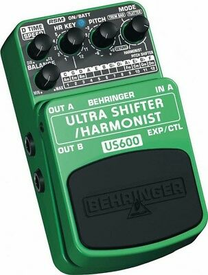Electrovision Behringer Ultra Shifter/Harmonist Pedal US600 ZB454