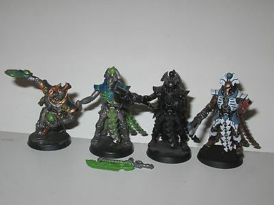 Warhammer 40K Necron 4x Overlords HQ Pack
