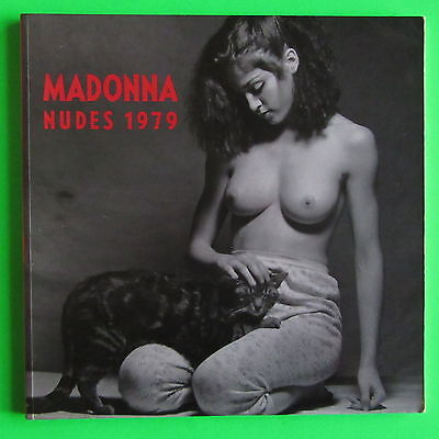 "Madonna - Nudes - Rare 11"" X 11"" Photo Book From 1990"