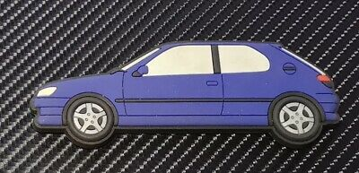 Peugeot 306 Gti 6 / S16 fridge magnets , Blue