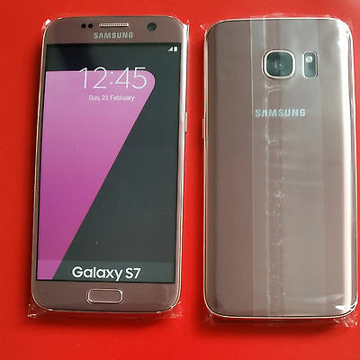 Samsung Galaxy S7 in Pink Gold Handy DUMMY Attrappe -NEU- Requisit, Präsentation