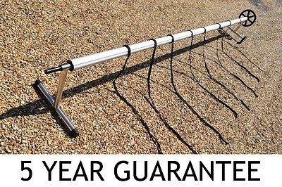 Swimming Pool Reel 5 Year Guarantee Aluminium And Stainless Steel Stands