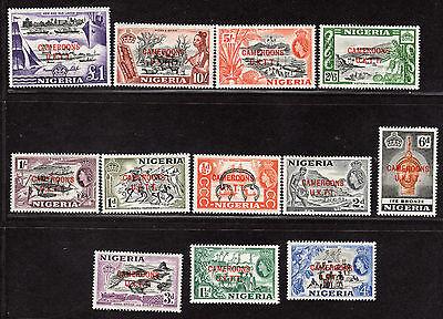 $Cameroons Sc#66-77 M/NH, complete set, CV. $31.25