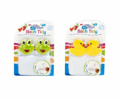 Suddies Bath Tidy Bathtime toy holder Net Frogs with Suckers