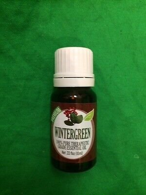 Grade Essential Oil Wintergreen 100% Pure 0.33 oz. by  Healing Solutions