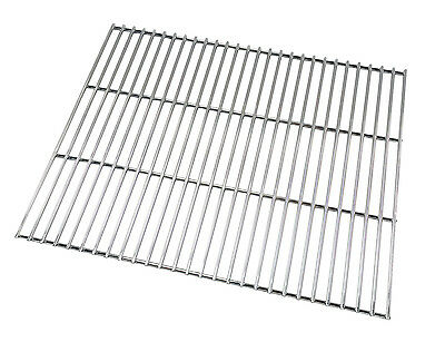 HEAVY DUTY STAINLESS STEEL BRICK BBQ REPLACEMENT COOKING GRILL 57.5cm x 44.5cm