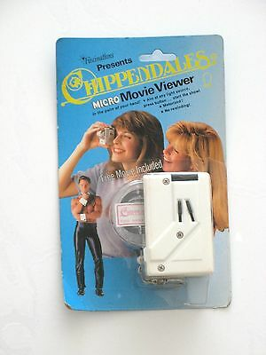 CHIPPENDALES MICRO MOVIE VIEWER BY FASCINATIONS VINTAGE EARLY 1980's RARE NOS