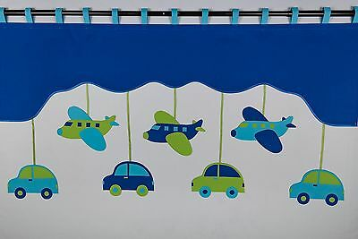 Childrens Kids Birds Trees Cars Airplanes Butterfly Flower Bedroom Curtain