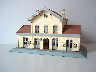 Maquette Montee  Gare Type Lusigny - Jouef - Ref 1033 - Echelle Ho