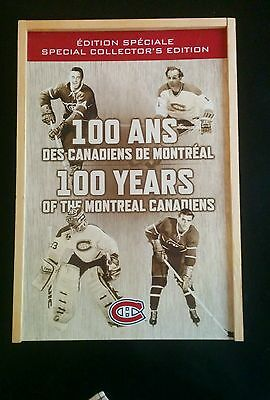 2008-09 Montreal Canadiens Centennial Special Collector's Edition Gift Box Set