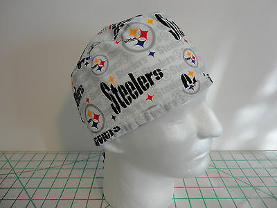 Pittsburgh Steelers Men Tieback Surgical Scrub Hat