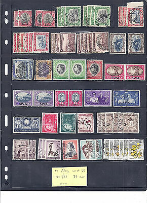 SOUTH  WEST AFRICA...# 97/346 ...1927/73...Lot of 68...33 Diff...M & U