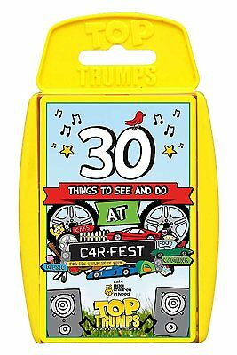 Top Trumps Carfest Card Game Brand New Sealed - Car Fest