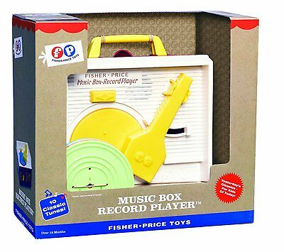 Fisher Price Classic Record Player Kids Baby Toddler Music Development Toy