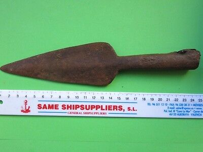 79. Roman Military Iron Spear  !!!  23 cm  !!!   PERFECT    RR