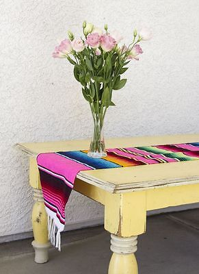 Terrific Mexican Serape Blanket Table Runner 72 By 12 Many Colors To Choose From Download Free Architecture Designs Intelgarnamadebymaigaardcom
