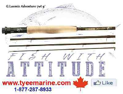 G.Loomis Fly Rod Adventure #7 in Canada 250-334-2942