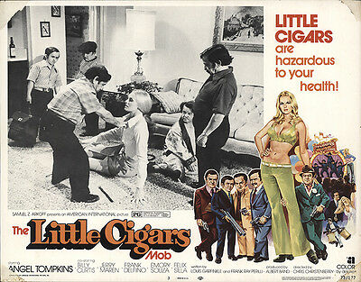 Little Cigars (aka The Little Cigars Mob) 1973 Original Movie Poster Comedy