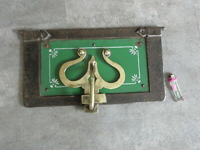 antique door panel IRON ORNATE vintage FIREPLACE FIREBACK Oven Door Set Ofentür