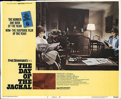 The Day of the Jackal 1973 Original Movie Poster Crime Drama Thriller