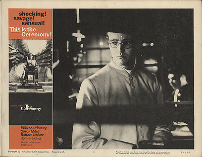 The Ceremony 1964 Original Movie Poster Laurence Harvey Crime Drama