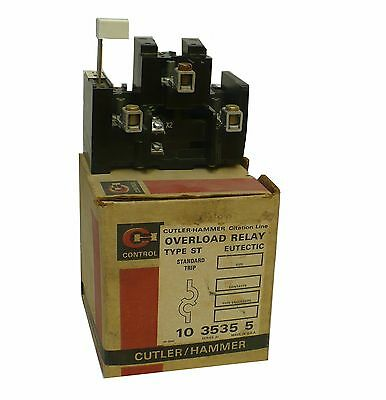 Cutler Hammer 10 3535 Type ST Series A1 Overload Relay (S4)