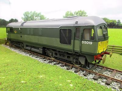 Bachmann Brassworks O Br Two Tone Green Class 24 'd5019' Painted By Tower Models