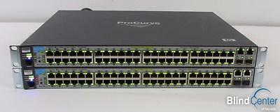 Lot of (2) HP ProCurve 2610-48-PWR (J9089A) 48 Port 10/100 Switches