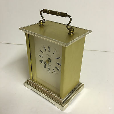 Carriage Clock - Geneve -  Brass/Metal/Plastic - Kienzle Quartz - Germany