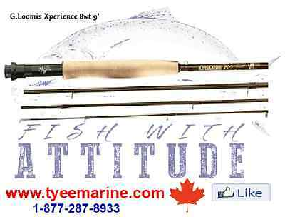 G.Loomis Fly Rod Xperience #8 in Canada 250-334-2942
