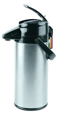 co 120795 KK Thermal Airpot Glass Lined 2 2L Silver Finish