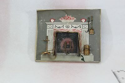 Vtg DollHouse Miniature Doll House Antique Lee Manufacturing Brass Accessory Lot
