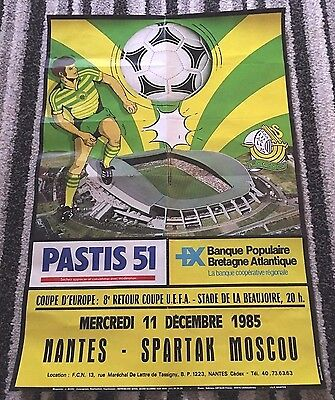1985 UEFA CUP Nantes v Spartak Moscow (USSR Soviet Union / Russia)