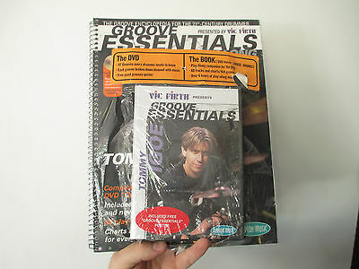 GROOVE ESSENTIALS - TOMMY IGOE - BOOK with DVD - HL00320541 - $39.95 COVER