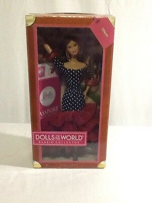 2011 Dolls Of The World Spain Barbie