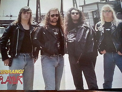 Slayer  Double Page/Sided Poster & Doro on reverse