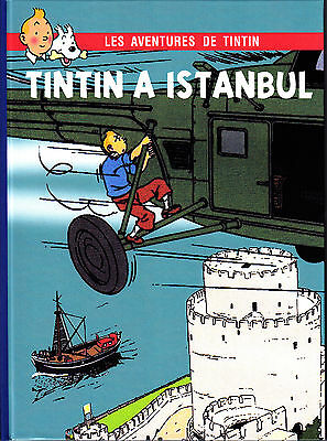 Hommage A Herge Tintin A Istanbul Version Couleurs