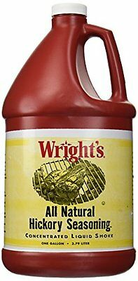 Wrights Liquid Smoke Hickory 1 gal New Free Shipping