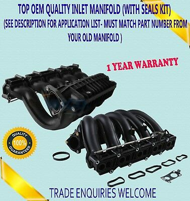 For Mercedes C E Ml Clk Class 270Cdi 2.7 Om612 99- Inlet Manifold Kit With Seals