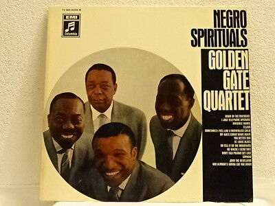 The Golden Gate Quartet Negro Spirituals, LP washed und neue Innenhülle